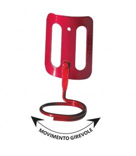 PORTA MARTELLO MASS GIREVOLE IN ACCIAIO