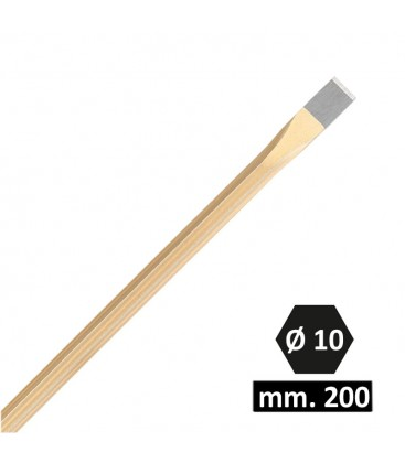 SCALPELLO EXCALIBUR 200 MM. Ø 10
