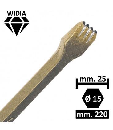 GRADINA WIDIA 25 MM. 4 PUNTE