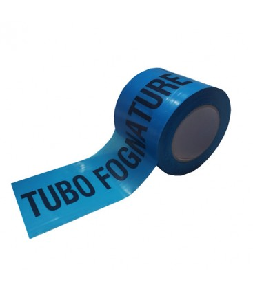 Nastro di segnalazione tubo fognatura: colore blu