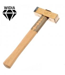 Mazzetta widia con manico legno extra spigoli vivi
