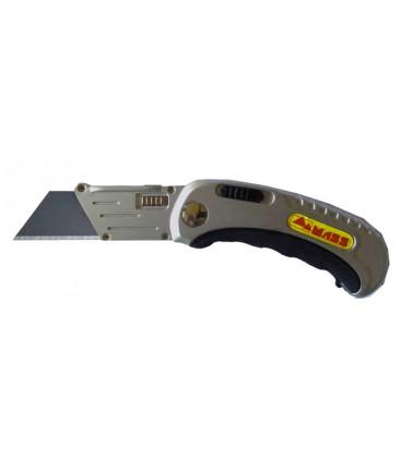 Cutter pieghevole metal lama 60x19 mm