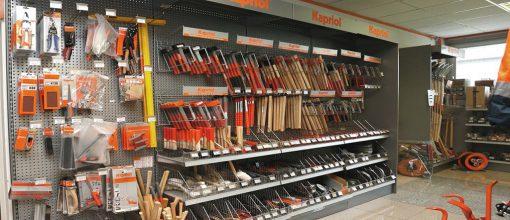 Vendita di attrezzature per carpentieri e muratori